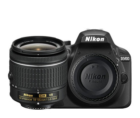 Câmera Nikon D3400 (corpo) C/nf
