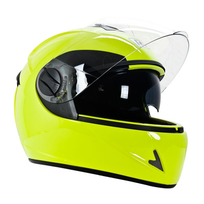 Casco Motociclismo Integral R7 Md-800 Fluo Talla L