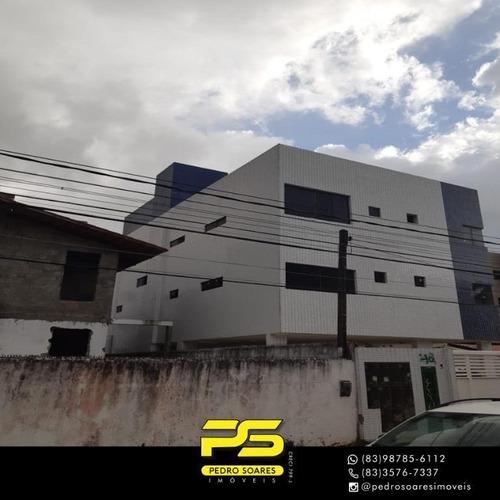 Apartamento Com 2 Dormitórios À Venda, 50 M² Por R$ 176.000 - Jardim Cidade Universitária - João Pessoa/pb - Ap3539