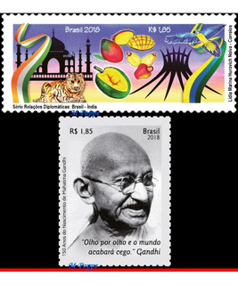 Ver Desconto 2018 Rel. Diplom. Brasil-índia E Gandhi