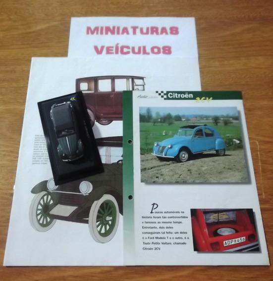 Miniatura - Auto Collection - Nº43 - Citroen 2 Cv 1966