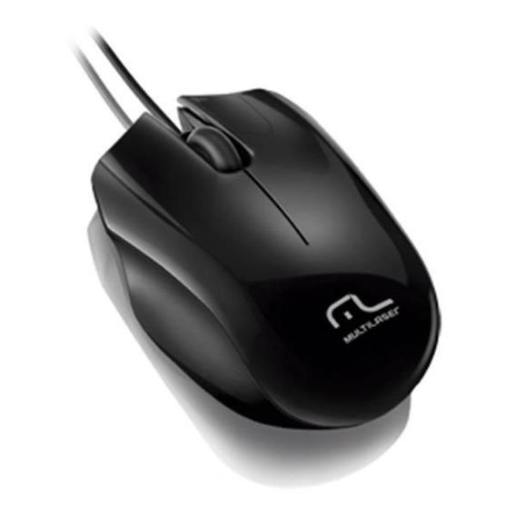 Mouse Multilaser Sport Usb Preto - Mo193