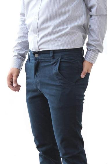 Pantalón Casual Vestir Skinny De Hombre Colores Envio Gratis