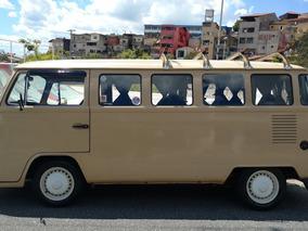 Volkswagen Kombi 85/86 - Placa Preta - Impecável
