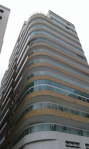 Imagem 1 de 13 de Apartamento Novo Com 02 Dormitórios(1 Suíte)vista Do Mar.