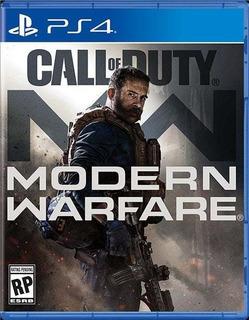 Disponible Call Of Duty Modern Warfare 2019 Ps4
