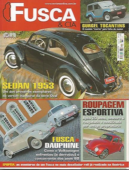 Revista Fusca & Cia Nº 44 - Sedan 1953 - Fusca Dauphine