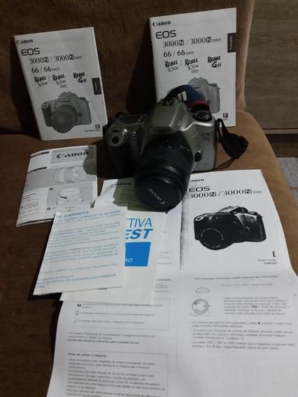 Camera Analógica Canon Eos 3000n Funcionando