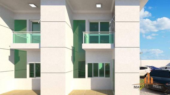 Sobrado Com 2 Dormitórios À Venda, 65 M² Por R$ 225.000 - Belas Artes - Itanhaém/sp - So0062