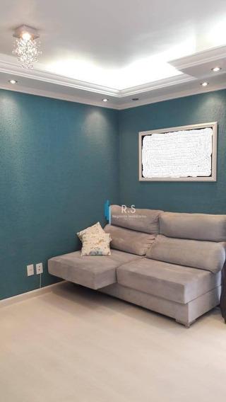 Apartamento Com 2 Dormitórios À Venda, 55 M² Por R$ 260.000 - Condomínio Principado De Louveira - Louveira/sp - Ap0126