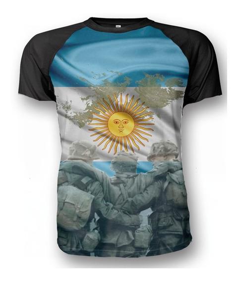 Remera Homenaje Malvinas Argentinas Heroes Caidos Patria