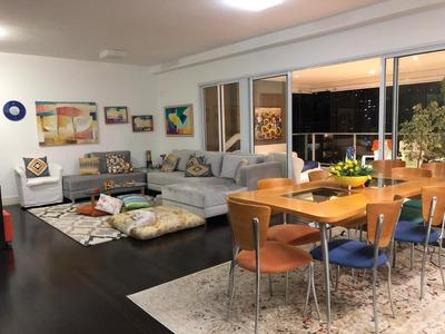 Apartamento Em Brooklin Paulista, São Paulo/sp De 138m² 2 Quartos À Venda Por R$ 1.700.000,00 - Ap228607