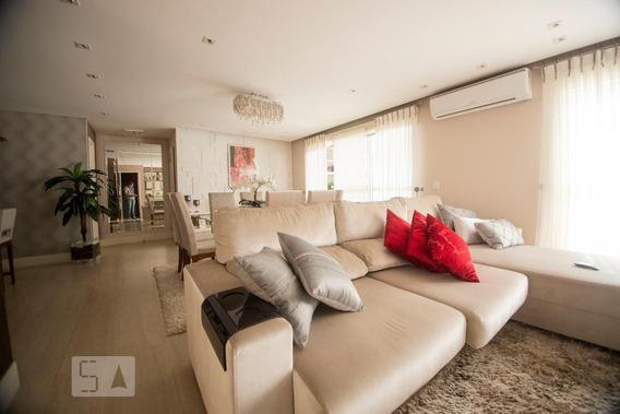 Apartamento No 3º Andar Mobiliado Com 3 Dormitórios E 3 Garagens - Id: 892975081 - 275081