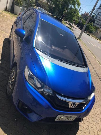 Honda Fit Ex 2014/2015 1.5 Cvt Azul
