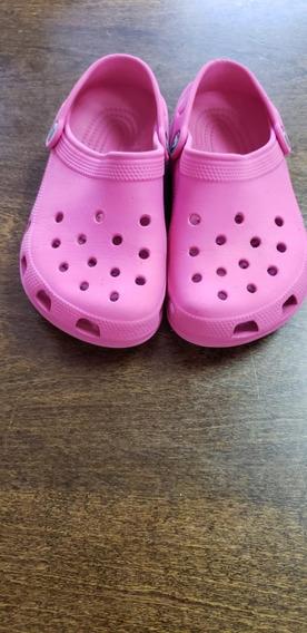Crocs De Niña Talle 13