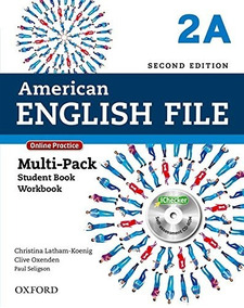 Kit American English File 2a Multi-pack Sb+wb Impresso