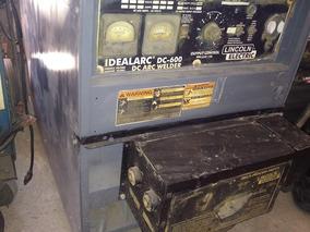 Maquina De Soldar Industrial Lincoln Dc-600,750 Amperes