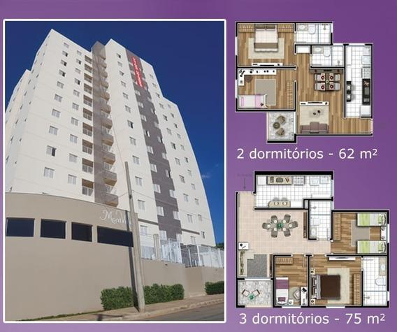 Apartamento Para Venda, 3 Dormitórios, Jardim Fortuna - Monte Mor - 369