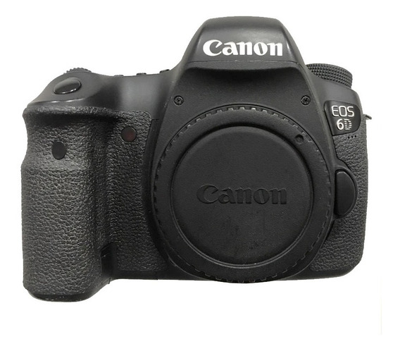Canon 6d + Carregador + 2bateria +bolsa