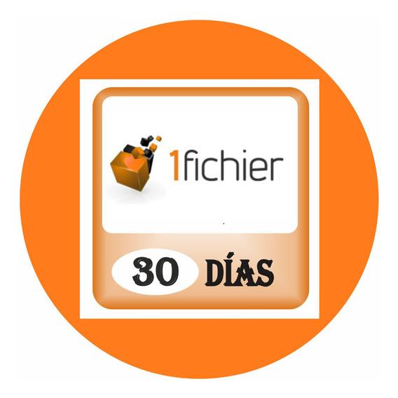 Cuentas Premium 1fichier X 1 Mes (30 Dias) Garantizada
