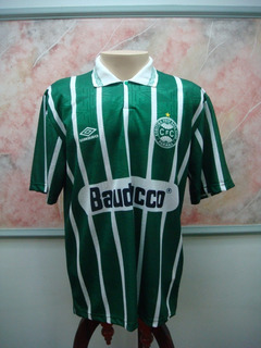 Camisa Futebol Coritiba Pr Umbro Jogo Antiga 1560