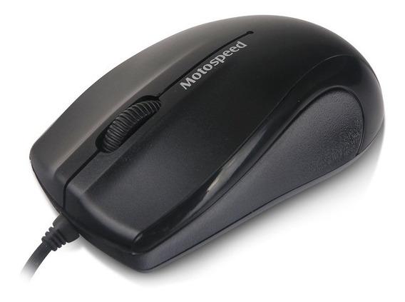 Mouse Usb Motospeed F333 1000dpi Preto