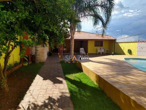 Imagem 1 de 6 de Casa Com 2 Dormitórios À Venda, 150 M² Por R$ 390.000 - Jardim Novo - Rio Claro/sp - Ca0323