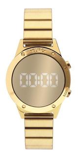 Relógio Euro Feminino Eujhs31bab/4d Digital Mirror Dourado