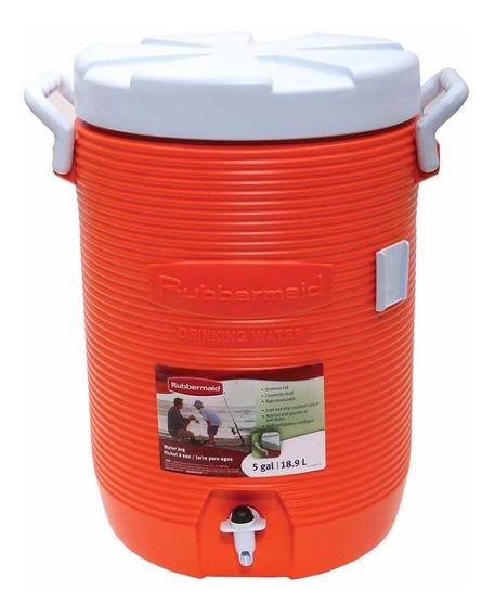 Garrafão Térmico Grande 19 Litros Água Botijão Com Torneira