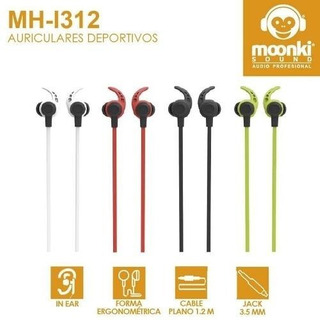 Auriculares Moonki Sound Mh-i312 Sport Sonido Superior.