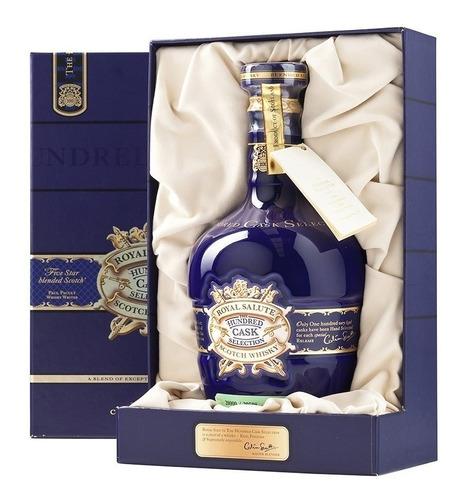 Imagen 1 de 8 de Whisky Royal Salute The Hundred Cask Selection 700ml Estuche