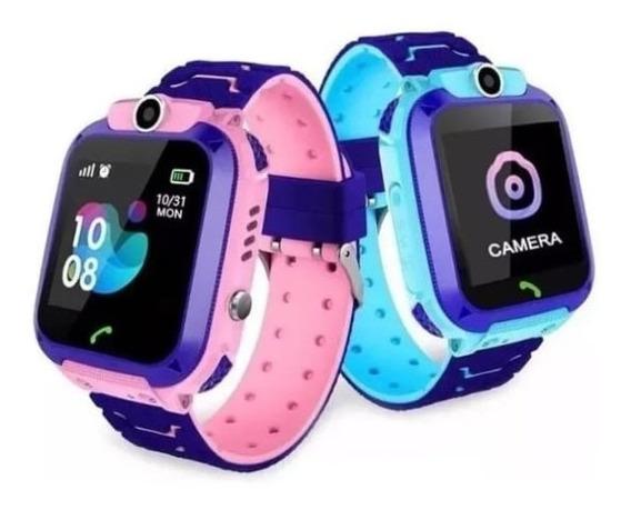Smartwatch Infantil C/ Localizador Gps/ Câmera / Chamada Sos