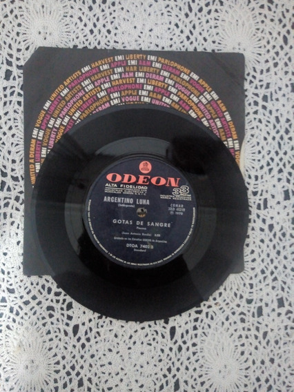Argentino Luna Simple Disc (disco De Vinilo)