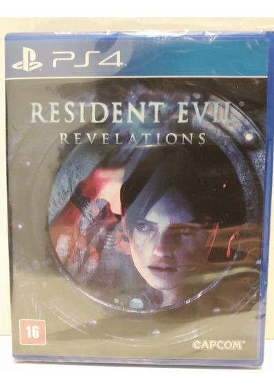 Jogo Ps4 Resident Evil Revelations Mídia Física Lacrado
