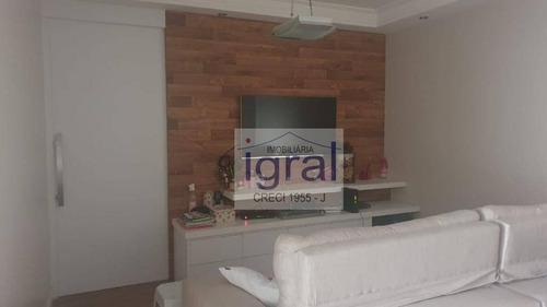 Imagem 1 de 30 de Apartamento Com 3 Dormitórios À Venda, 97 M² Por R$ 914.990,00 - Vila Monte Alegre - São Paulo/sp - Ap0979