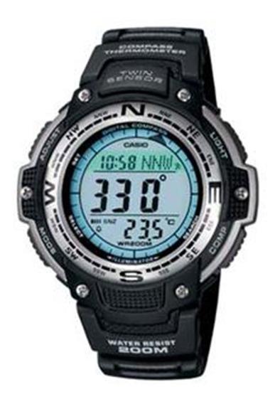 Relógio Masculino Digital Preto Casio Sgw-100-1vdf