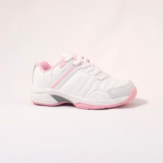 Zapatilla Atomik Footwear - 1986-at-0044-k-blanco Y Rosa