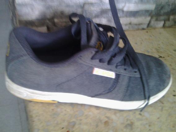 Zapatos Apolo Caballero Talla 35 Gris. En Muy Buen Estado