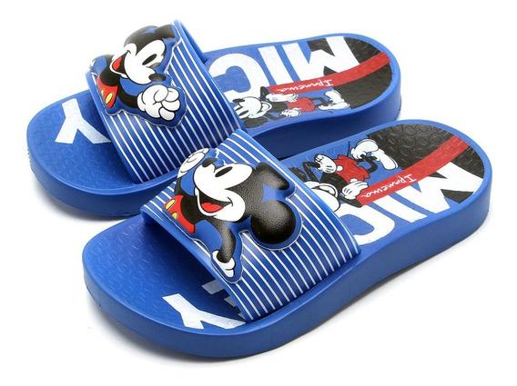 Chinelo Slide Ipanema Disney Menino - Azul