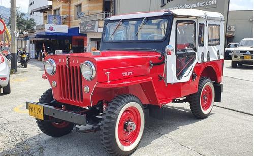 Willys Cj5 1954 4x4 2200cc Gasol Meca