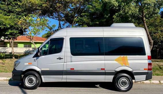 Van Sprinter 415 Mb Luxo Teto Alto Turismo Executiva