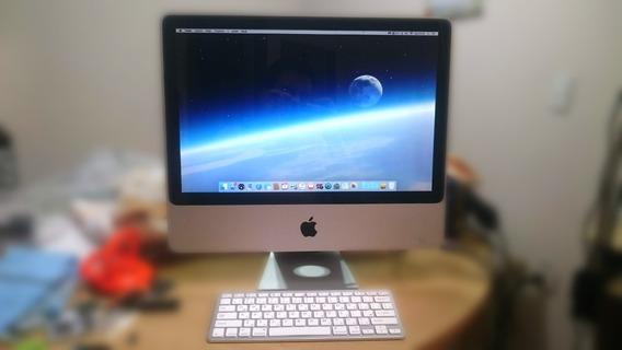Apple iMac C2d 2.4ghz 4gb Radeon Revisado C/ Teclado S/ Fio!