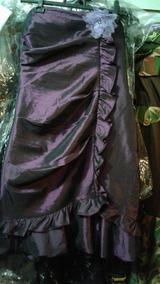 Lindo Vestido De Festa Em Tafetá Furtacôr