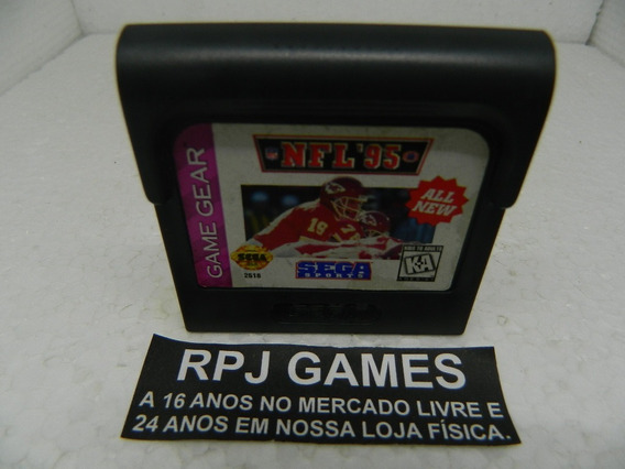 Nfl 95 Original P/ Game Gear - Loja Centro Rj -