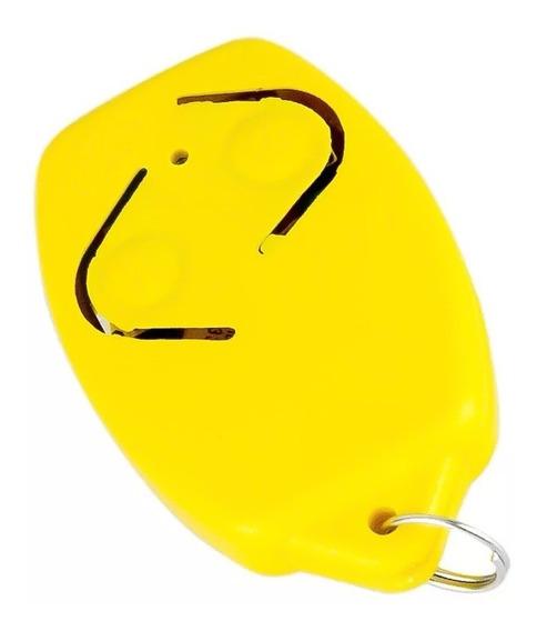 Controle Remoto Rossi Amarelo Tx Hcs 433 Mhz P/ Motor Portão