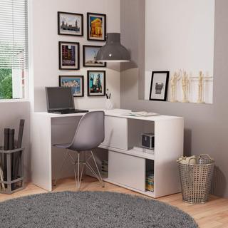 Mesa Para Computador 2 Portas Correr Bc 44 Performa Ib