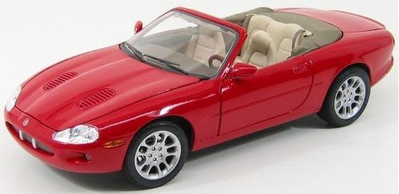 Jaguar Xkr Miniatura Escala 1/18 Maisto Com Frete Incluido