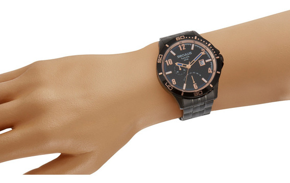 Relógio Seculus Masculino 35022gpsvpa2