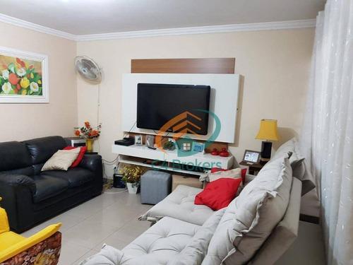 Imagem 1 de 30 de Sobrado Com 3 Dormitórios À Venda, 170 M² Por R$ 650.000,00 - Jardim Bom Clima - Guarulhos/sp - So0665