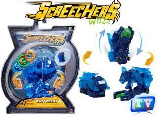 Vehículos Especiales Transformables Screechers Original!!